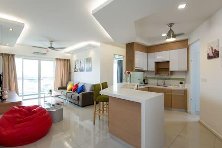 Twin Tower View Condo for 4+2丨城中雙子塔景私人公寓 - Lejlighedskompleks