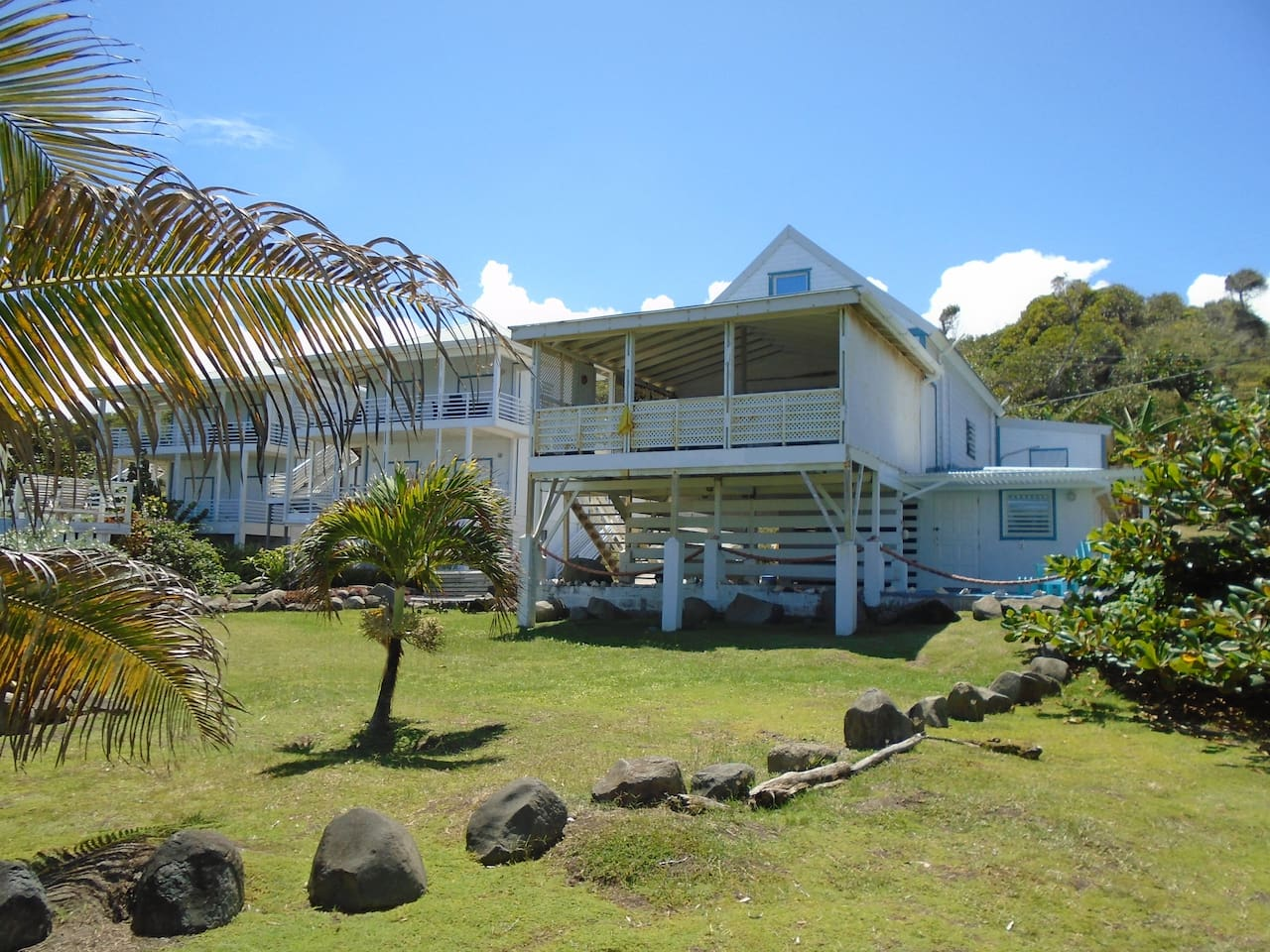 MoonFish Villas, viewed from the gardens!
