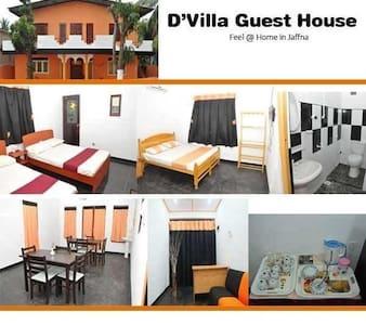 D'Villa Guest House Jaffna - Bed & Breakfast