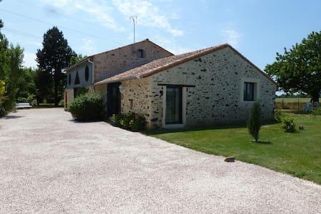 Gîte rural 8 à 10 pers. 160 m² - Les Cerqueux-Sous-Passavant