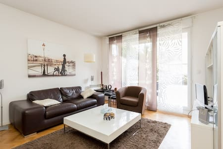 Charming flat with private garden