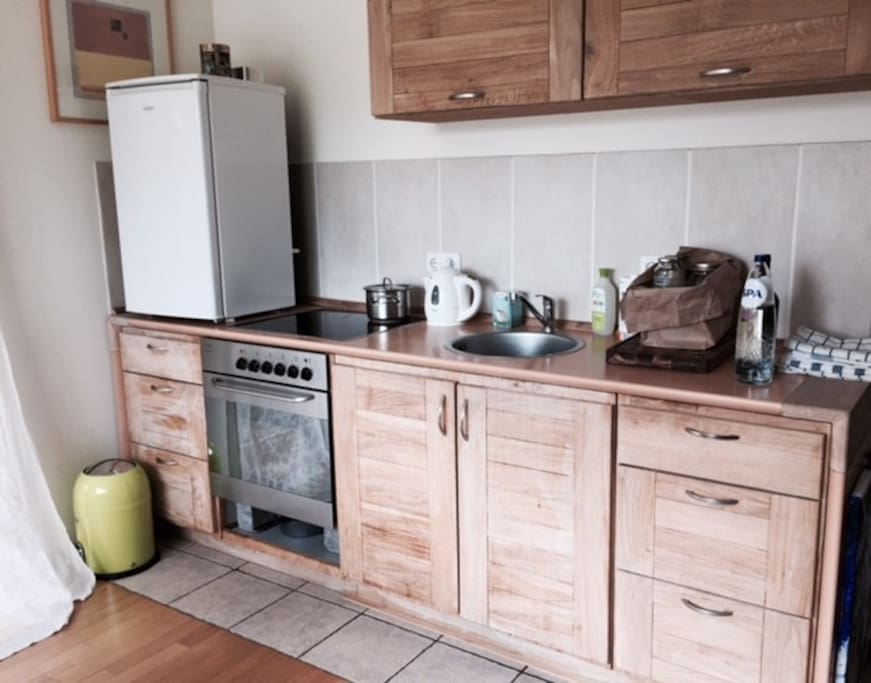 little kitchen handmade from pure oak