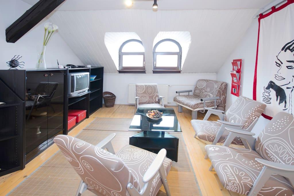 Apartment Alenka - livingroom