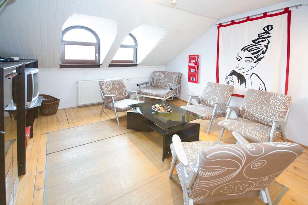 Apartment Alenka - living room