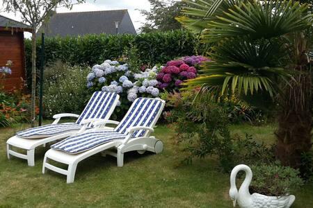 Chambre privée proche St Malo -Dinard -Dinan - Rumah