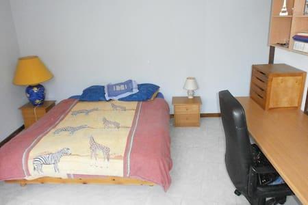 grande chambre spacieuse de 30m2 - Clarensac - Haus