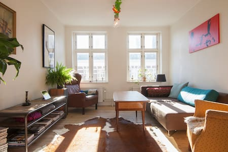Big top floor apartment - Kopenhagen - Appartement