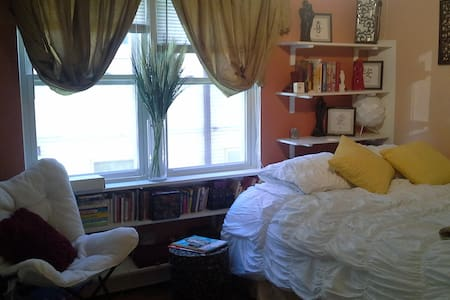 Private, nice room/Blue Line,Metra/ - Wohnung