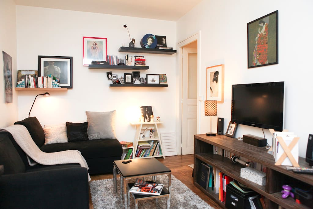 Lovely 40m2 Apt near Pere Lachaise
