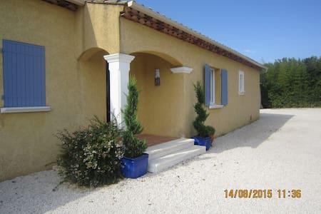 VAR  - VILLA AU CALME 5' DU VILLAGE - Le Val - Casa