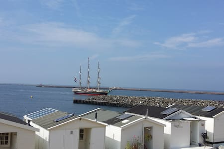 Cosy beach house IJmuiden - IJmuiden - Cabane