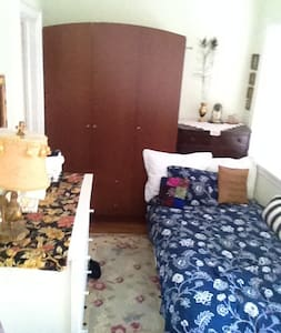 Small cozy single room