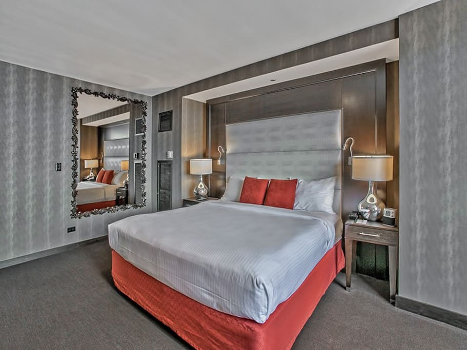 Private Room with King Bed