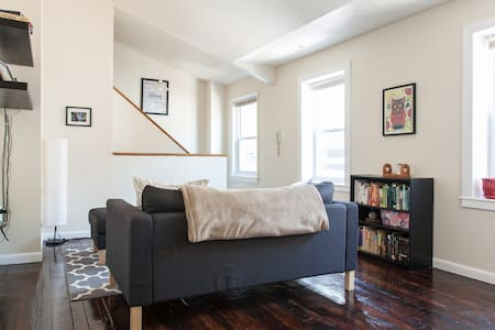 Large Room in Historic Row Home