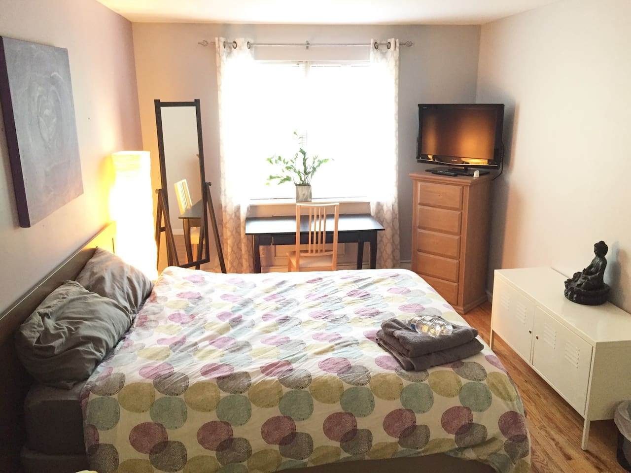 Spacious Private Room NYC