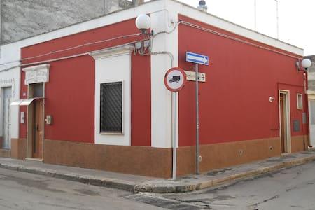 casa stella  -  la maison rouge - San Michele Salentino - Apartment