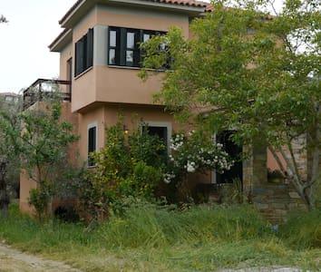 Cozy Chorto, Pelio home - top floor - Ev