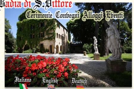 Badia San Vittore, peace and nature - Villa