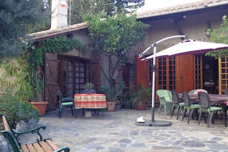 B&B in catalan Mas - nr Perpignan - Espira de l'Agly - Bed & Breakfast