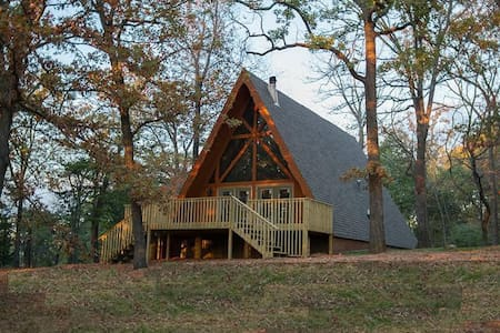 Murray's Cabin in The Ozarks - Harrison - Casa de campo