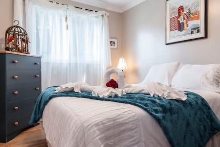 Chambre confortable dans bungalow - Ház