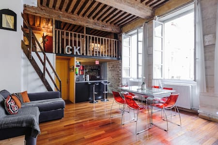 Charming loft in the heart of Lyon!
