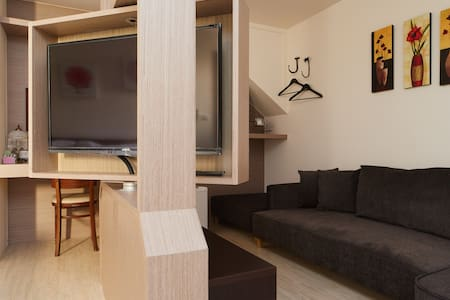幸福洋溢[魔法的寶盒二人居]免費Wifi、獨立衛浴^_^大空間 - 新北市 - Apartment