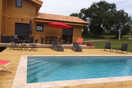 French Gascony For rent brand new wood house - House