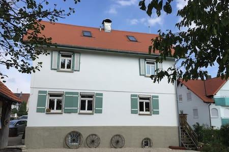 ehemaliges Bauernhaus - Erkenbrechtsweiler - Huis