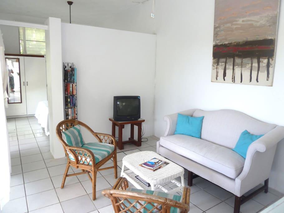 Lower Villa - Living Room