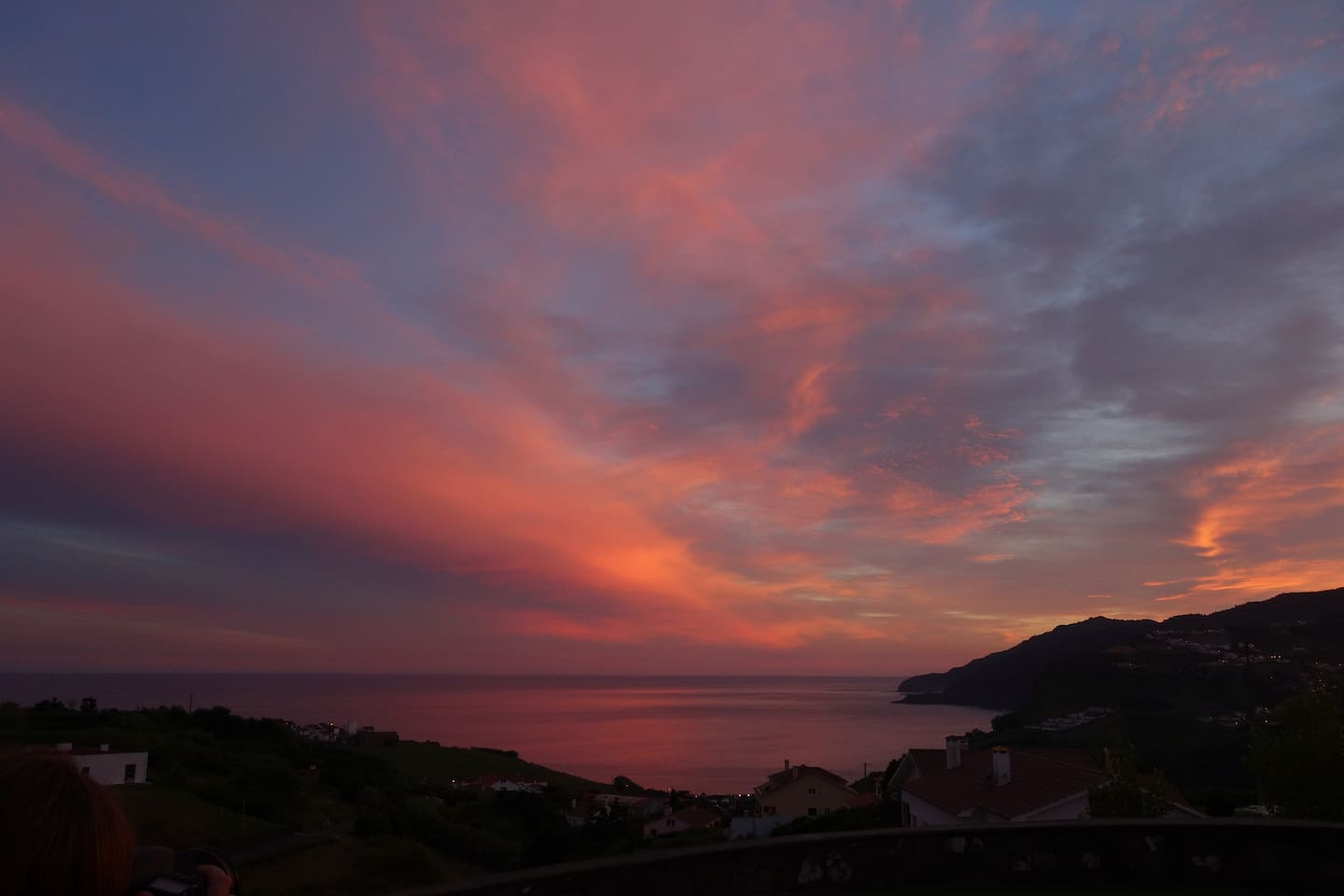 Summer sunset colours  Photo by Alex Strazar (guest). All rights reserved