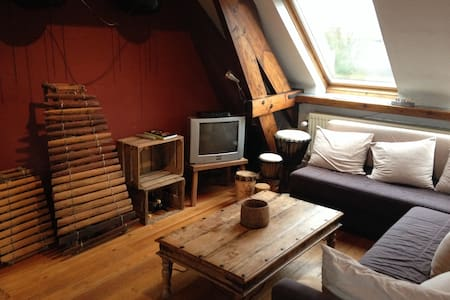 Cosy loft in pittoresk village - Loft
