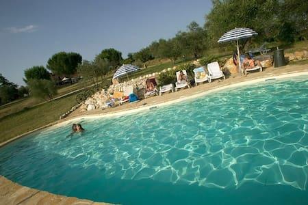 A 5 km da Siena con piscina - San Rocco A Pilli - Lejlighed