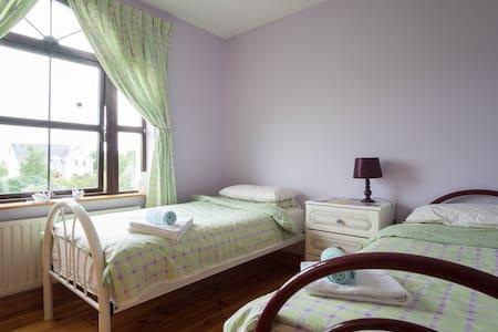 2 single beds & own bathroom Galway