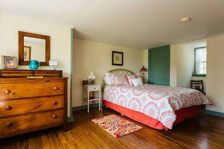 The Wheelhouse -Cooperstown Bedroom