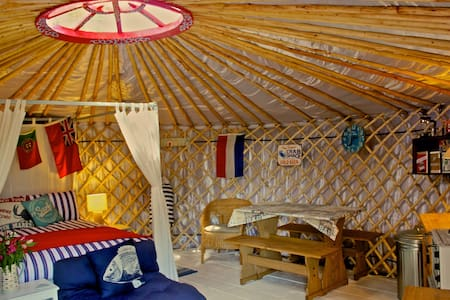 Luxury Yurt with Harbour/Sea views - Emsworth