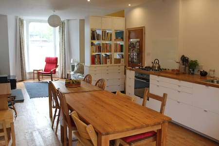 A room sleeping up to 2 people in our character Victorian family home close to The Lake District and Yorkshire Dales National Parks. Parking in the street outside and breakfast is included.