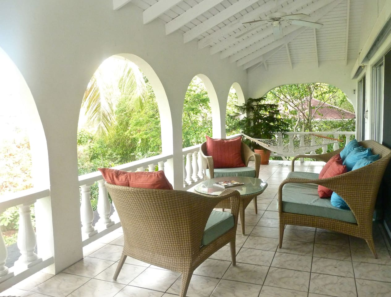 Upper Villa - Balcony