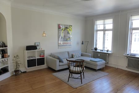 This charming apartment is located within walking distance of the center of Copenhagen in the cozy neighborhood of Frederiksberg. Popular shopping, café and dining destinations are close by, as is the metro, providing easy access to the airport.