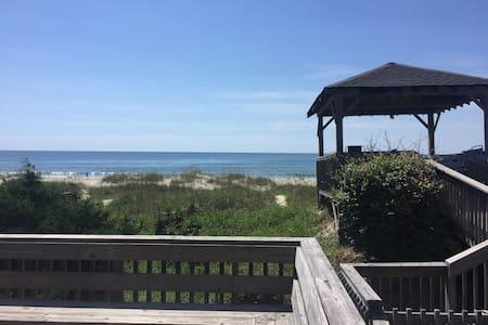 4 BR 2.5 bath oceanfront property