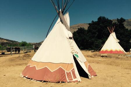 Tipi - Authentic Native American - Wildomar