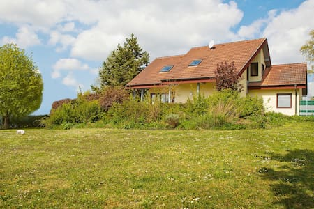 Perfekt für Besucher mit Hund - Estenfeld - Rumah
