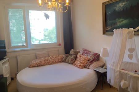 Lovely room, big round bed - Bed & Breakfast