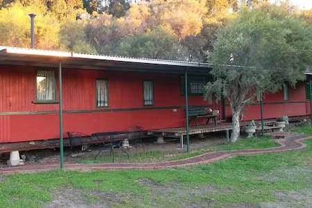 Train Carriage at Rusty Hollow Farm