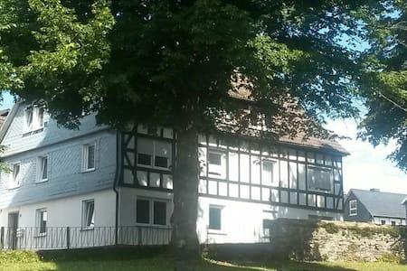 Schöne 3 Zimmer Wohnung nahe Siegen - Lejlighed