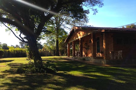 Lazer e descanso a 80km de S.Paulo - Blockhütte
