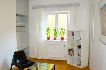 cozy private room in the Centre - Lägenhet