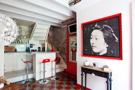 Charmante petite maison Trentemoult - Hus