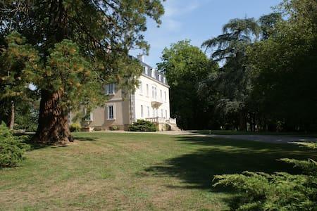 Maison de maître entourée d'un parc - Grury