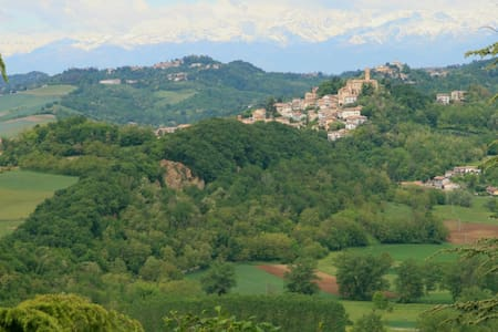 Panoramic Stone Cottage - Villadeati